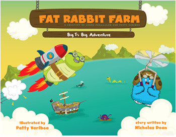 Vol. 2 Big T's Big Adventure Story Book by Fat Rabbit Farm