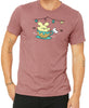 Ice Cream Tea Cup Ride Men's T-shirt by Fat Rabbit Farm