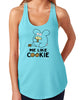 Me Like Cookie Women's Tank Top by Fat Rabbit Farm