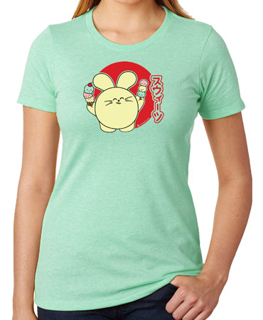 Sweet Treats Women's T-shirt by Fat Rabbit Farm