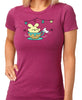 Ice Cream Tea Cup Ride Women's T-shirt by Fat Rabbit Farm