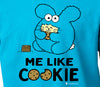 Me Like Cookie Kid's T-shirt by Fat Rabbit Farm