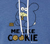 Me Like Cookie Unisex Sponge Fleece Pull-Over Hoodie by Fat Rabbit Farm