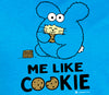 Me Like Cookie Women's T-shirt by Fat Rabbit Farm