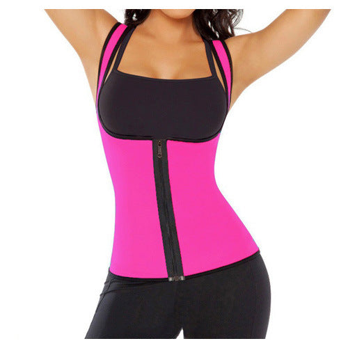 Women's Slimming Neoprene Vest Hot Sweat Shirt Body Shapers-activeware-Smart Ab Now