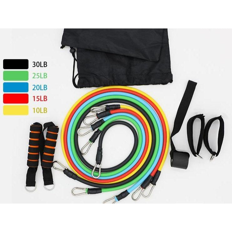 Resistance Bands Home Gyms Workout Sets-Smart Ab Now