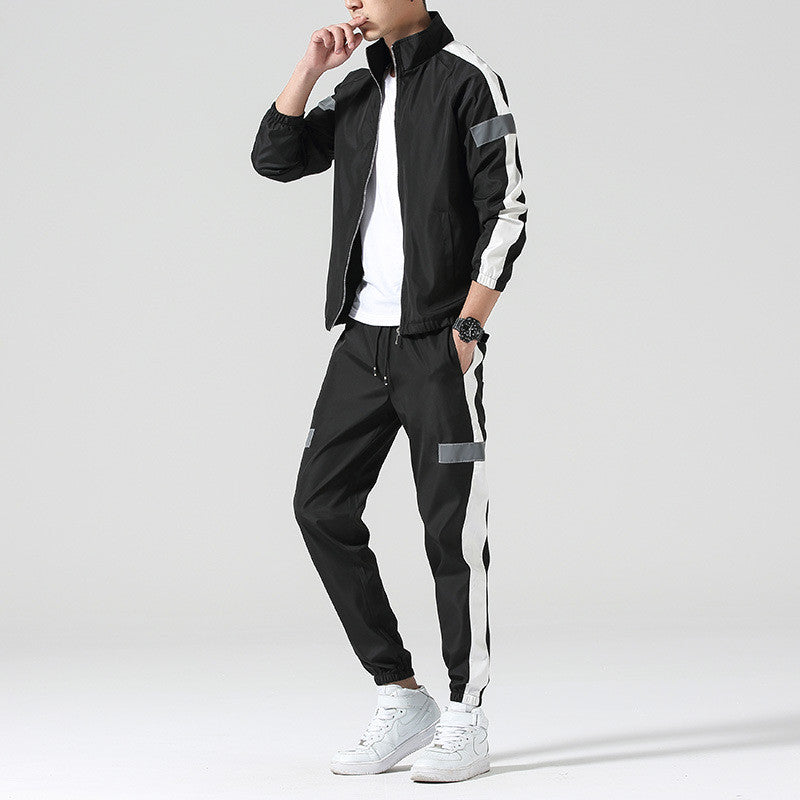 Reflective track suit-Mens-Smart Ab Now
