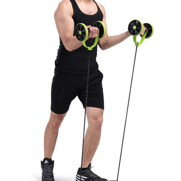 CoreFLEX Resistance Band AB Trainer-Workout-Smart Ab Now