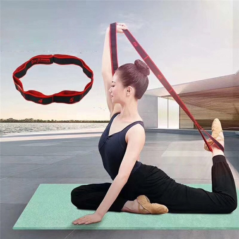 Yoga Stretch Strap-Workout-Smart Ab Now