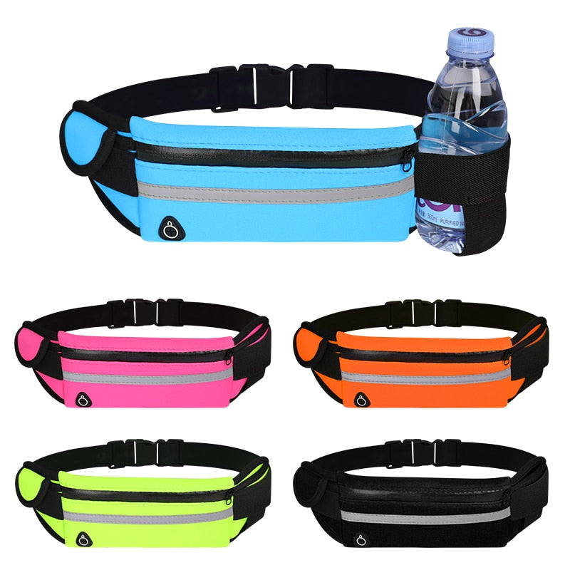 Neoprene HandsFree Pocket Waist Belt-Smart Ab Now