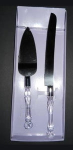 Wedding Cake Knife And Server
