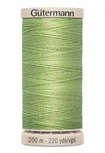 Load image into Gallery viewer, Gutermann Hand Quilting Thread 220 yd. (38 Colors #349 to #9837)