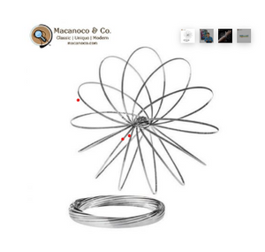 Magic Coil Metal Spring Toy