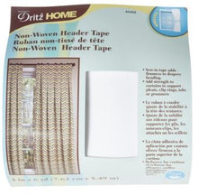 Load image into Gallery viewer, Non-Woven Header Tape
