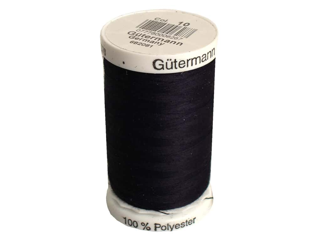 Gutermann Sew-All Thread 547 yd. (25 Colors #10 to #945)