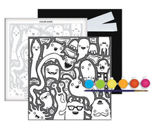 Load image into Gallery viewer, 3-D Monster Pop Paint By Number Craft Kit