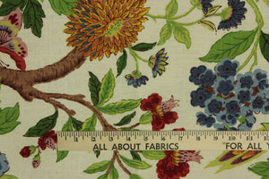 Platinum Collection Richloom©  Whipporwill Summer Fabric