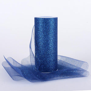 Glitter Tulle Roll 6 Inch x 10 Yards