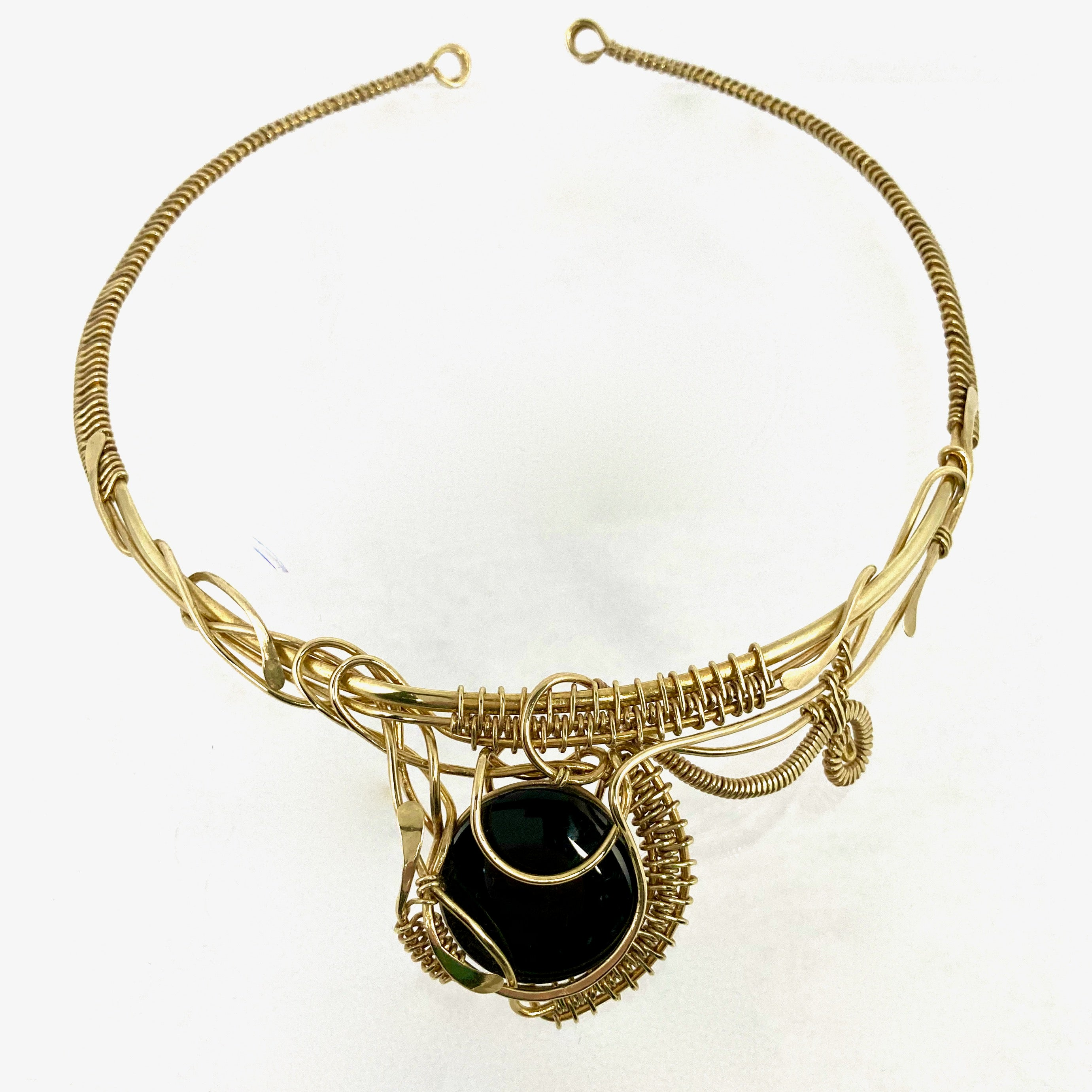 Obsidian Obsession Necklace