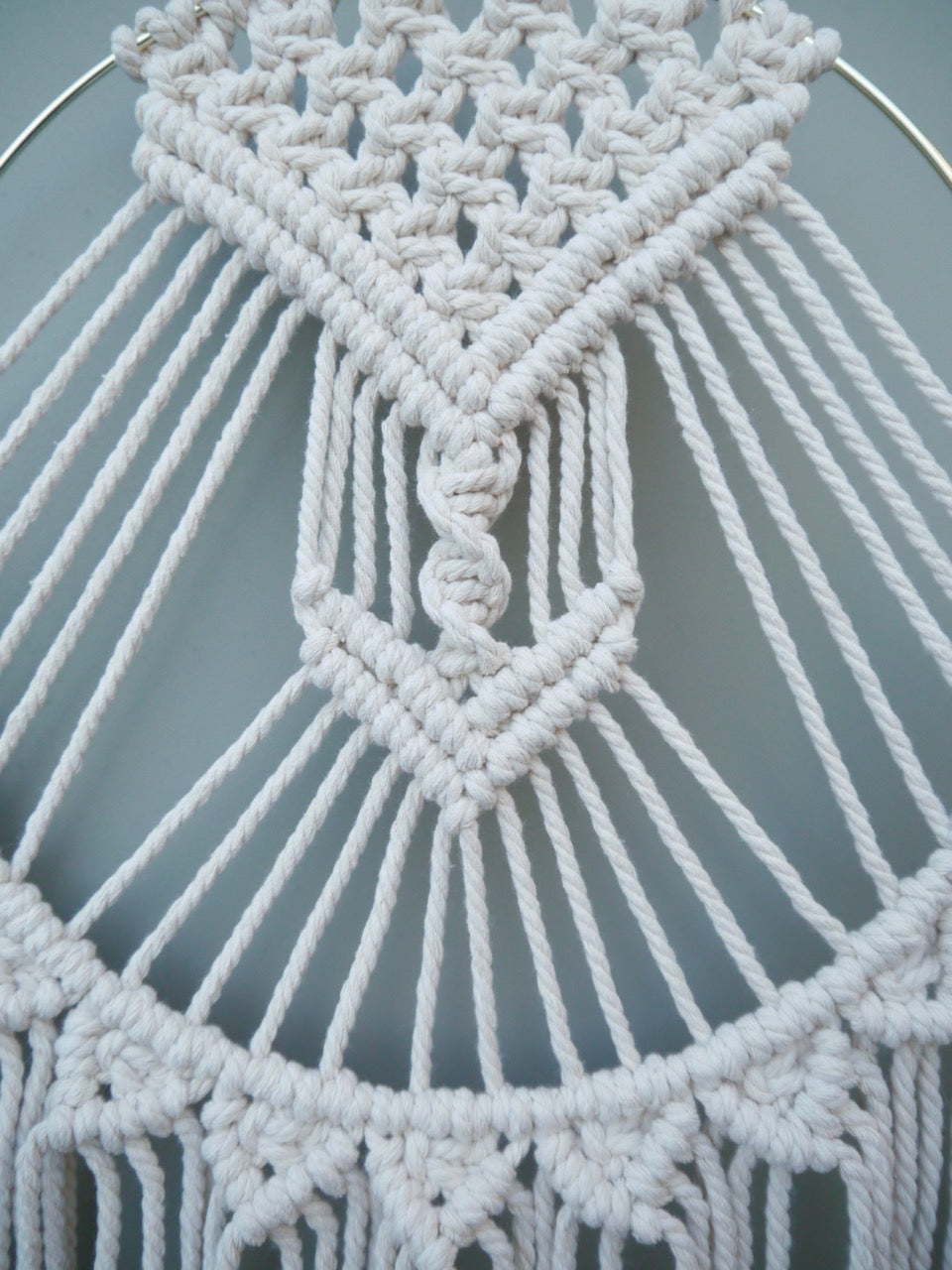 Sun Salutation Macrame Wall Hanging