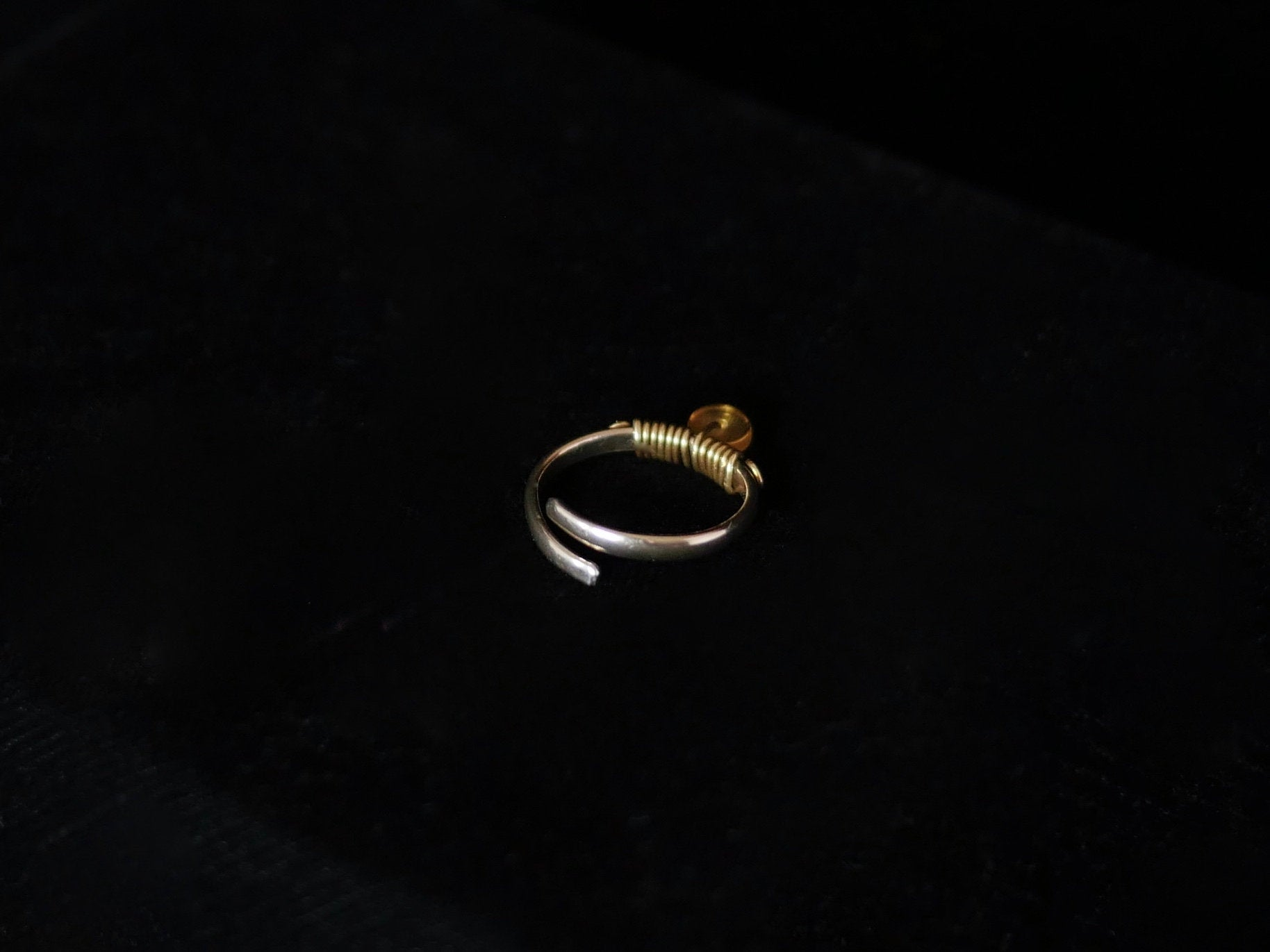 Unity Amber Ring