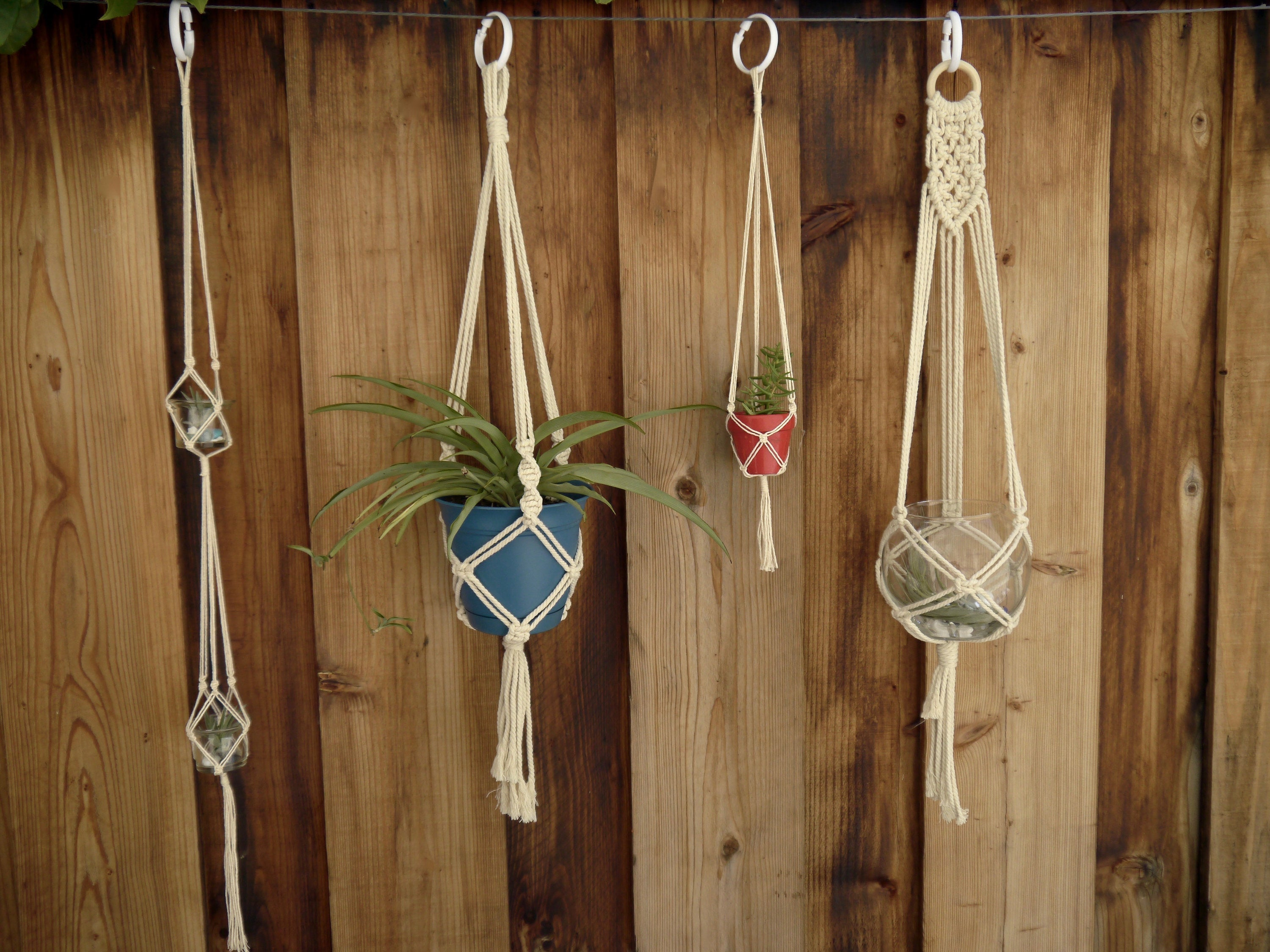 Classic Large Single Macramé Hanger
