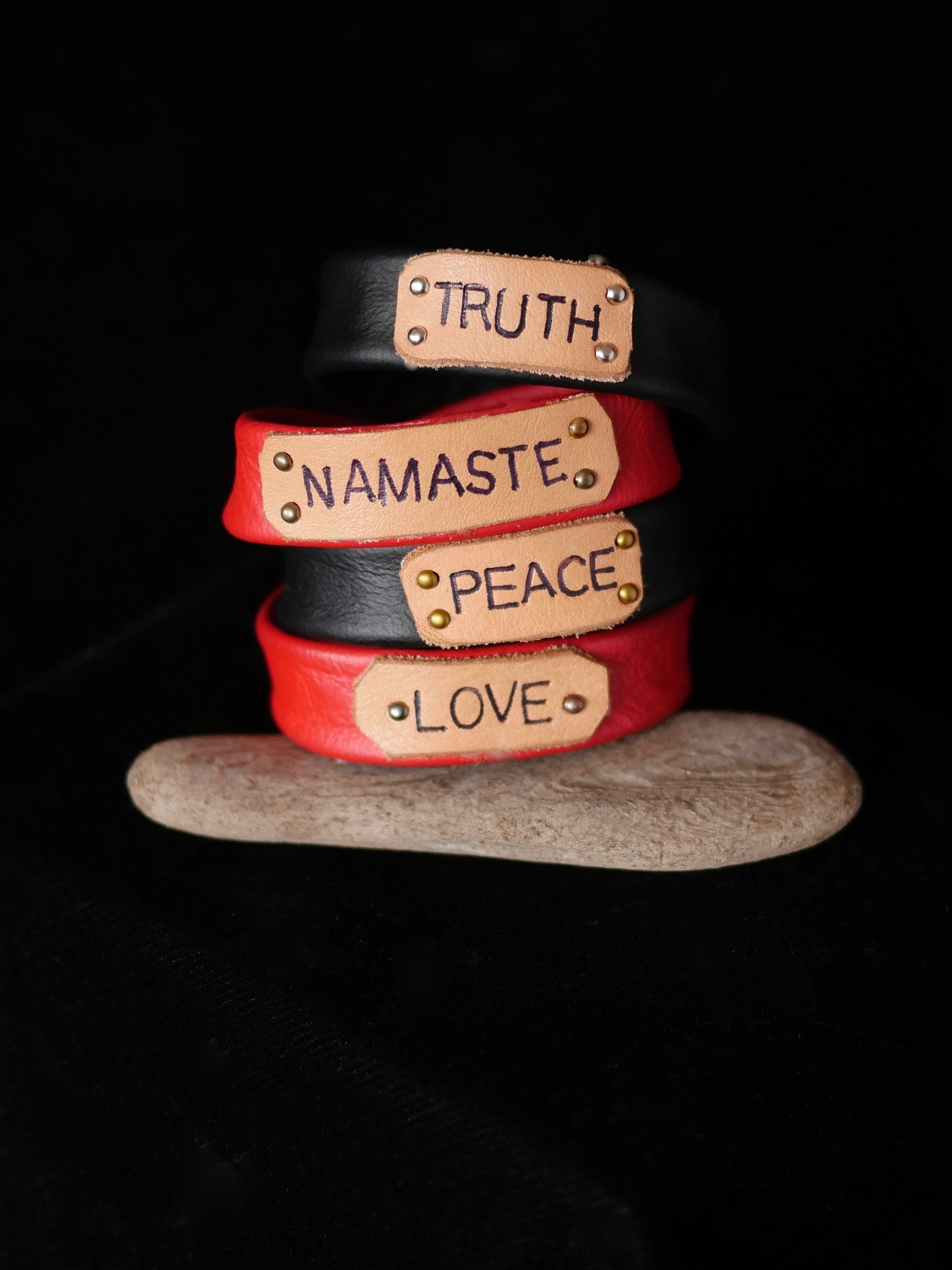 Positive Message Bracelet