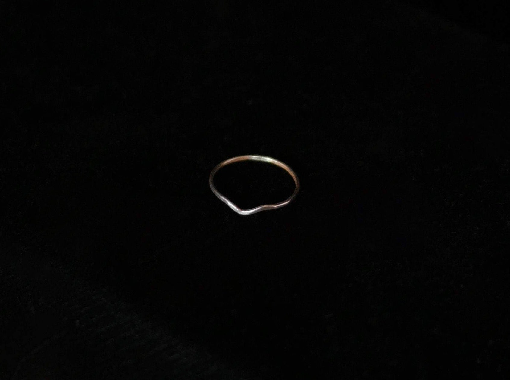 Chevron Ring - Sterling Silver