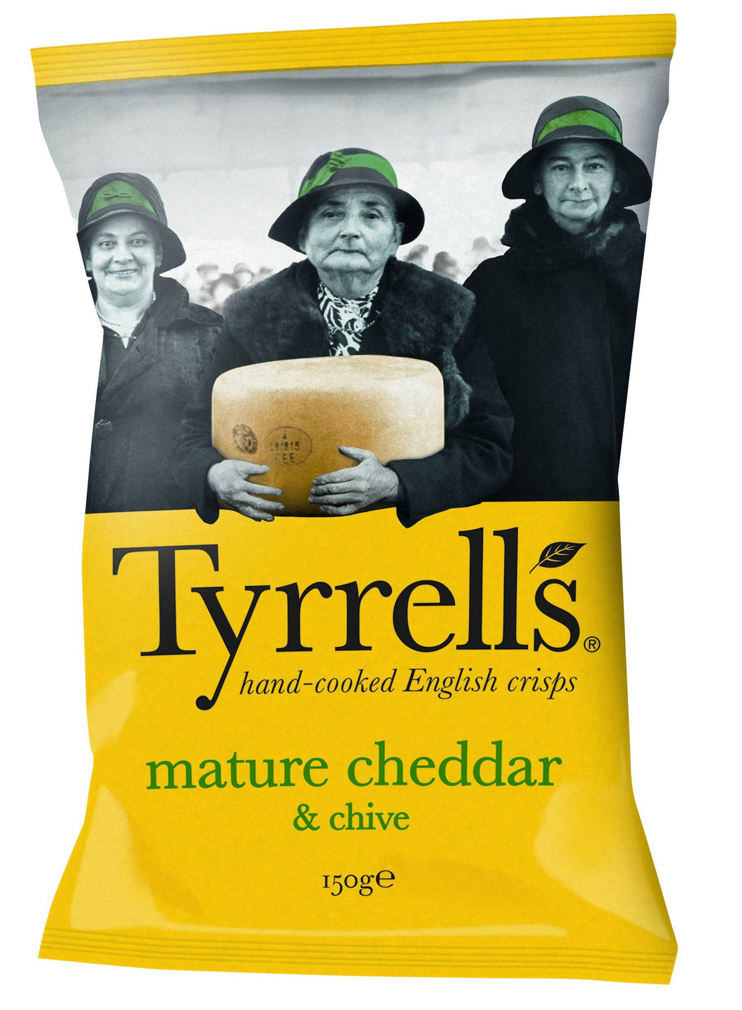 Tyrrell's chips with cheddar cheese and chive (150 g)