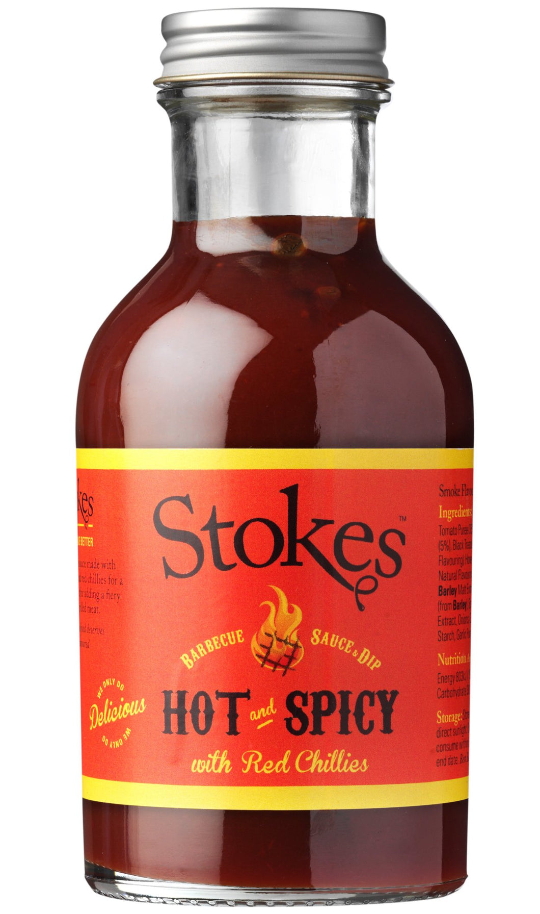 Stokes Hot and Spicy BBQ Sauce (315 g)