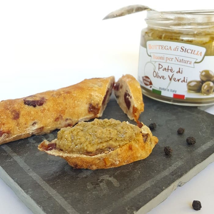 NEW! Green olive topenade 190g