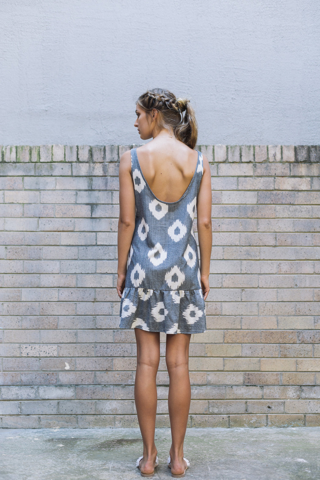 Eclipse Dress - Sleeveless - Black Spot