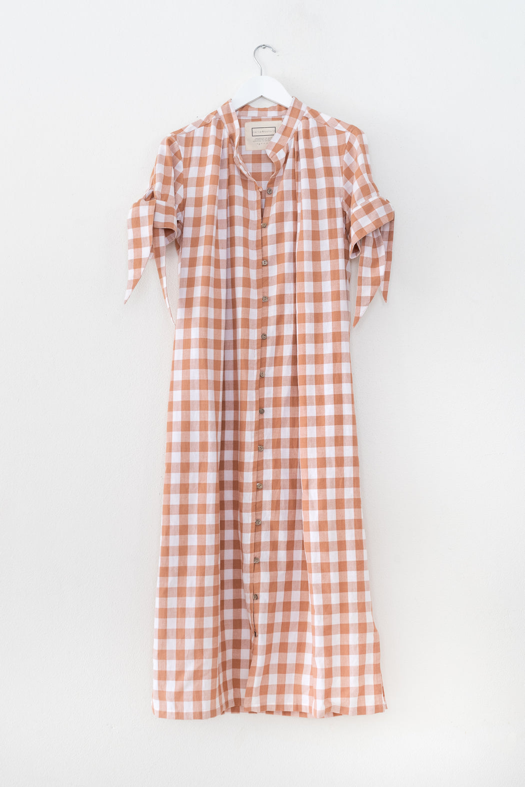 Motion Dress - Rose Gingham