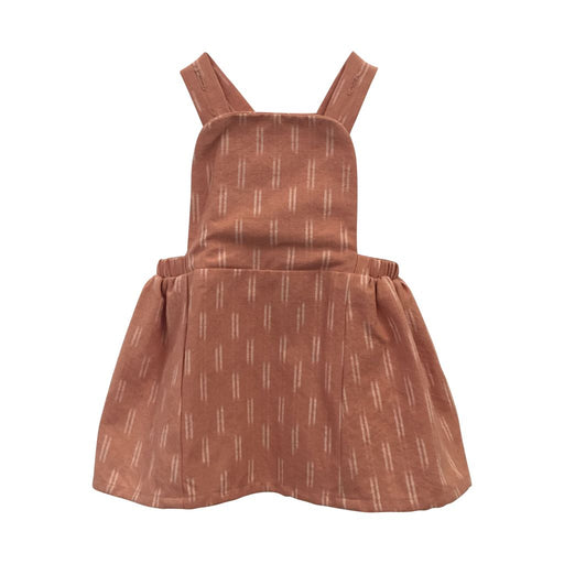 Baby Mia Dress - Peach Dash