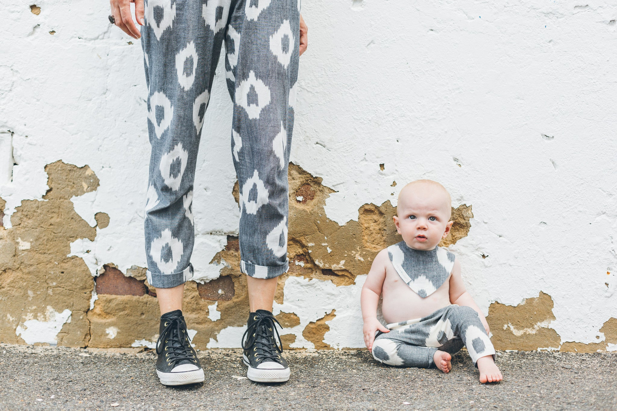Baby Traveller Pants - Black Spot