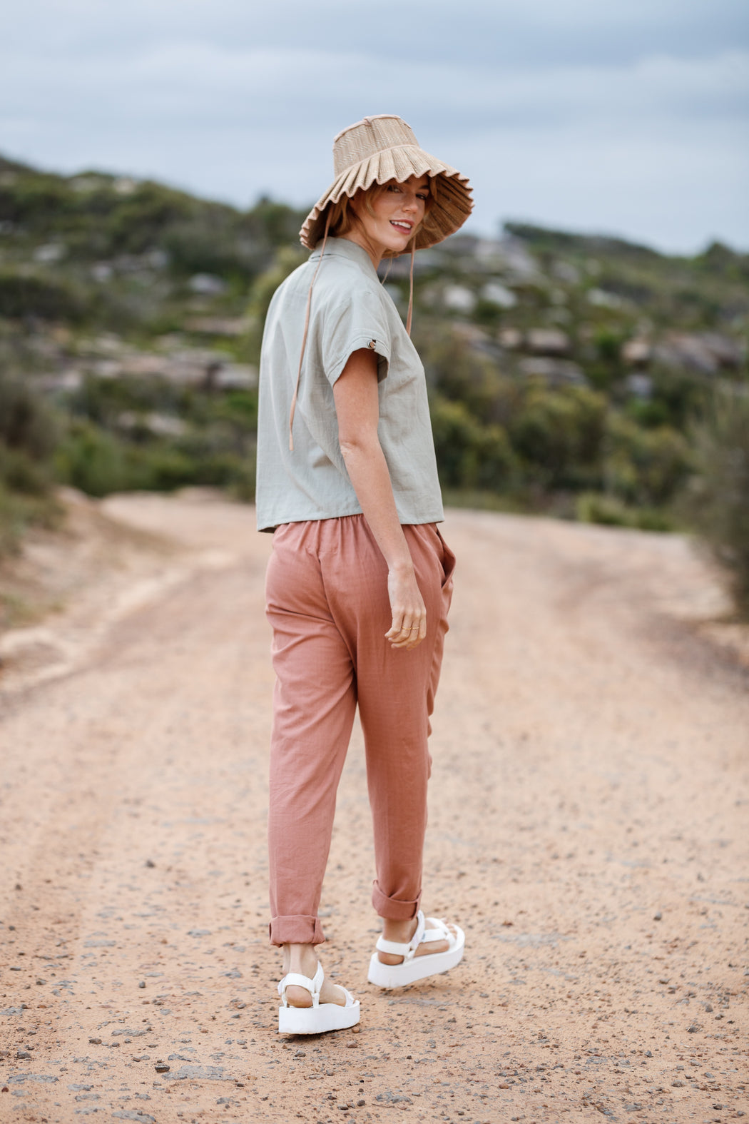 Traveller Pants - Dusty Rose
