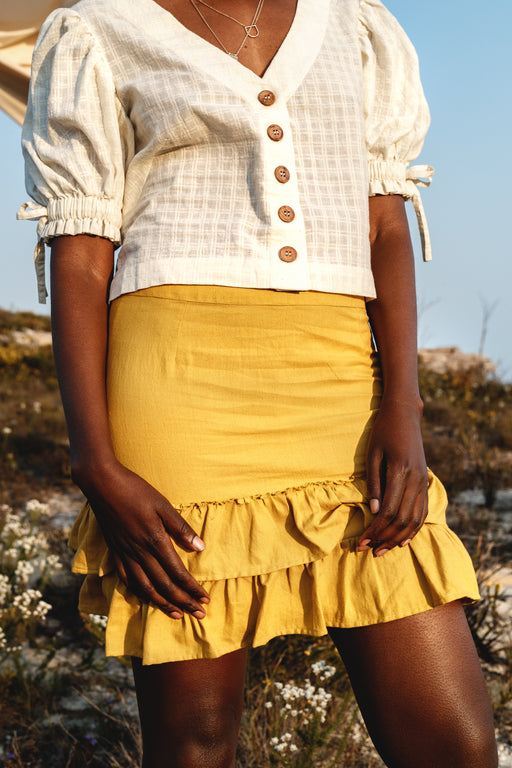 New Dawn Skirt - Turmeric