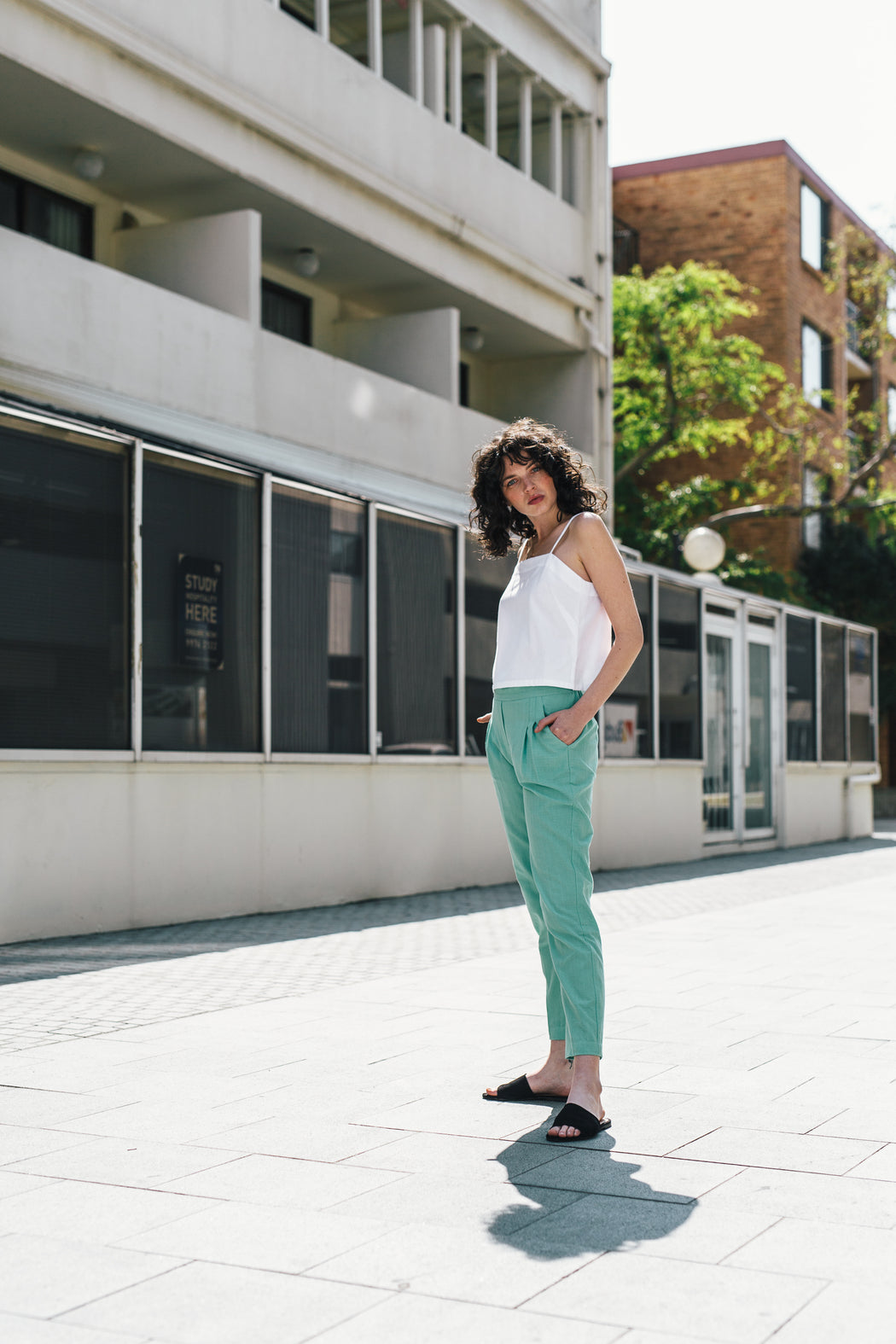 Traveller Pants - mint