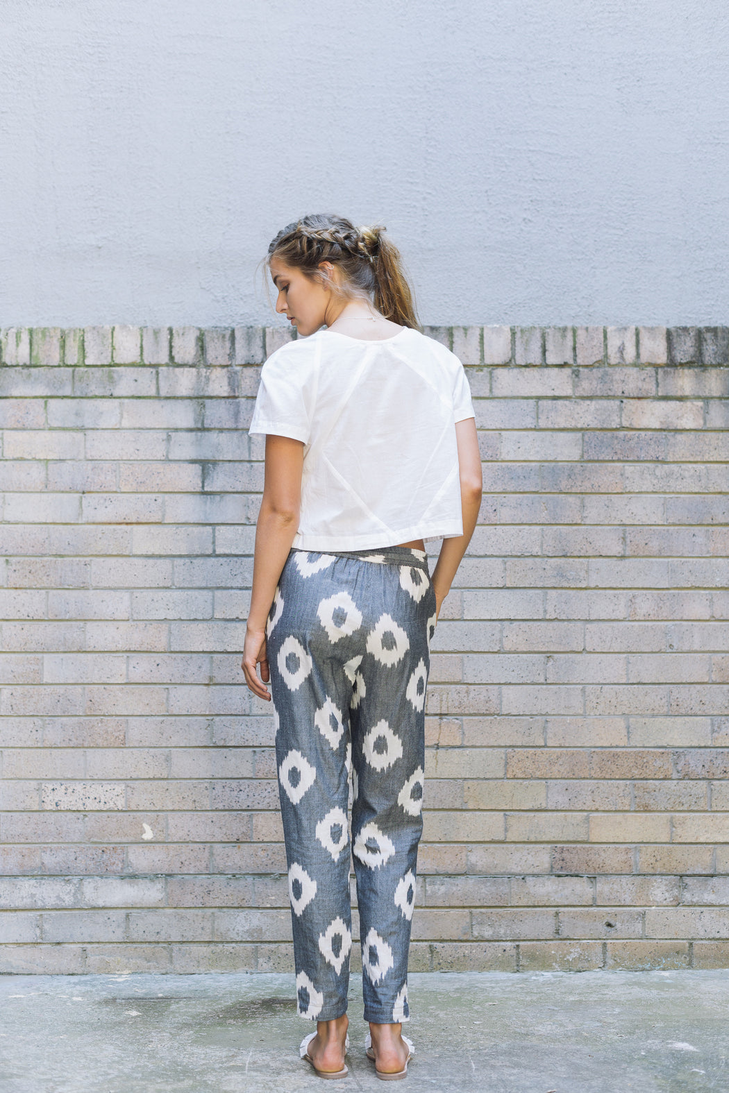 Traveller Pants - black spot