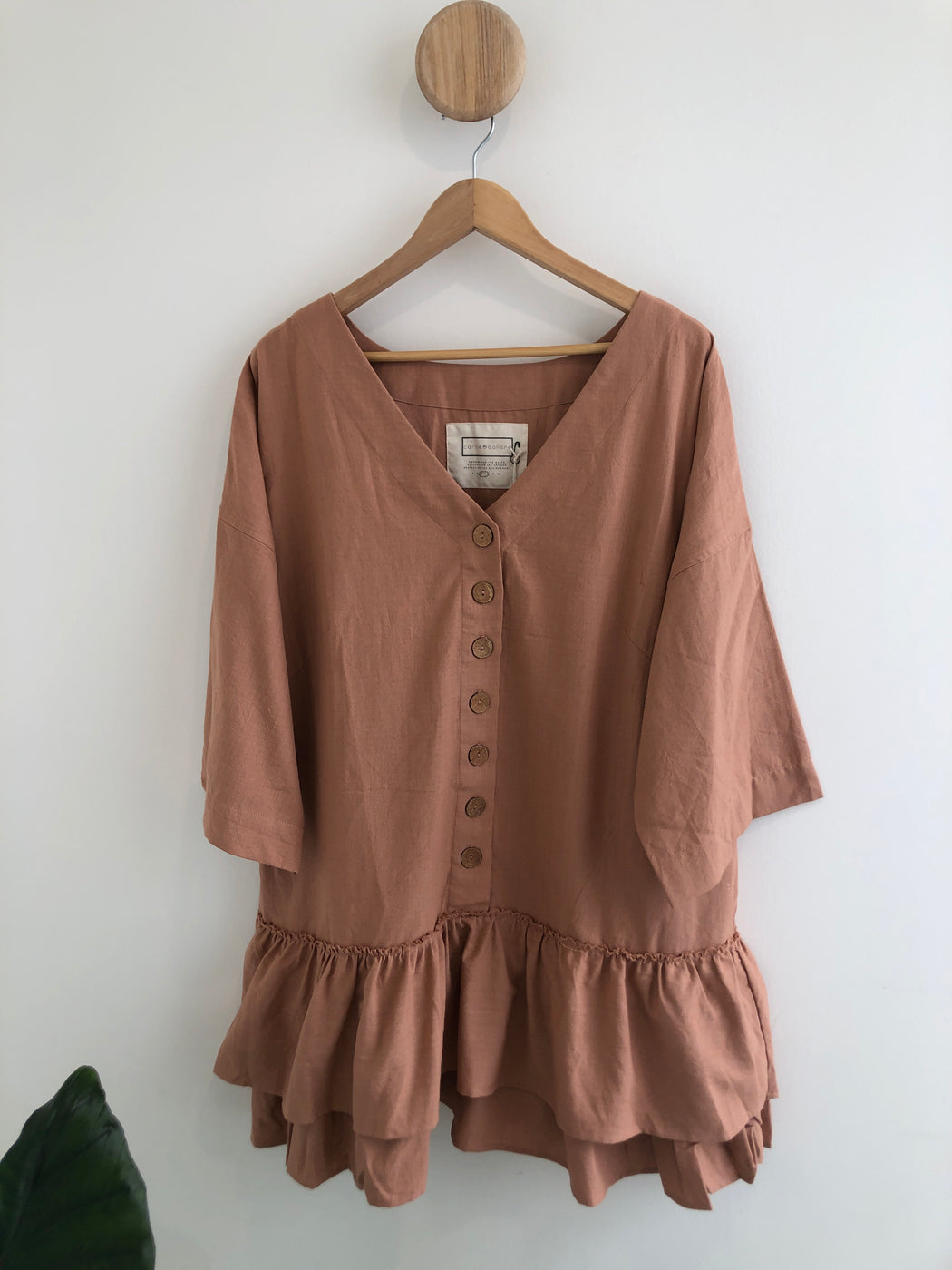 Luna Dress - Dusty Rose