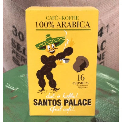 Santos Palace koffie capsules - 16 capsules