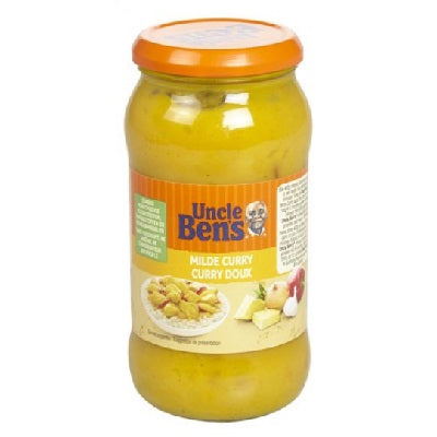 Uncle Bens Milde curry saus - 440gr