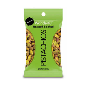 Wonderful Roasted & Salted Pistachios 2.25oz