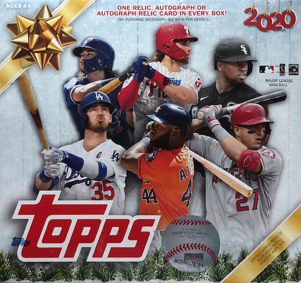 2020 Topps Baseball Holiday Mega Box – Baseball Dreams & Memories