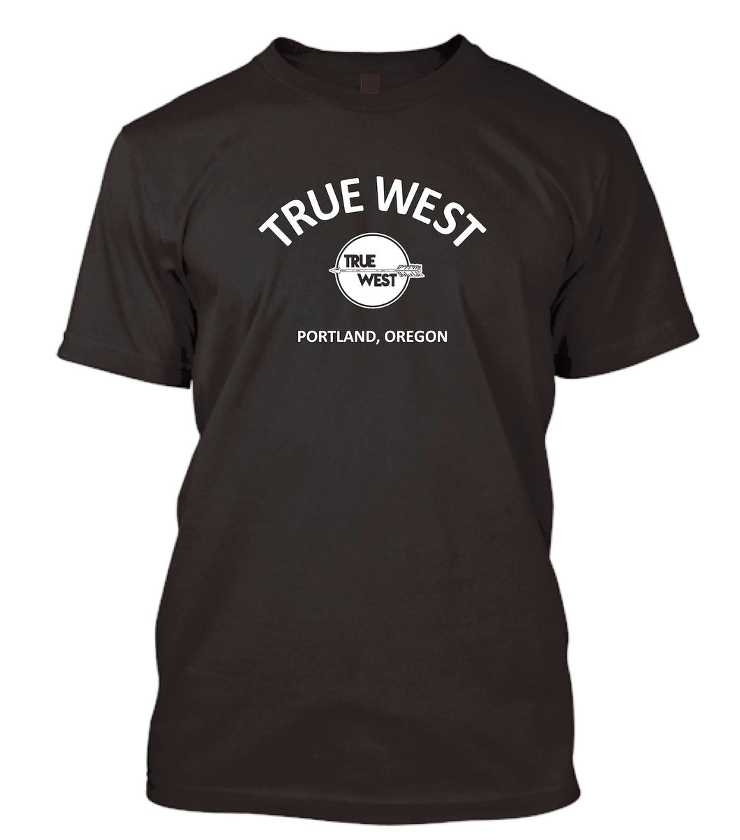 True West Short Sleeve T-Shirt - Black