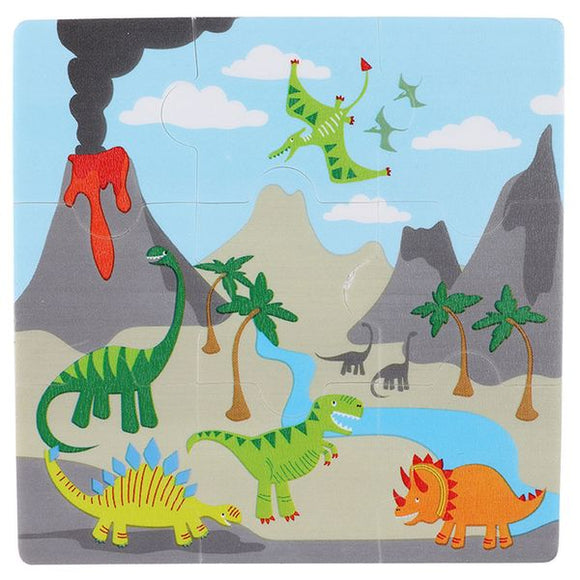 PAPERCHASE: DINOSAUR JIGSAW ERASERS