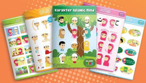 Islamic Mind Stickers for Activity Book Season 1 & 2