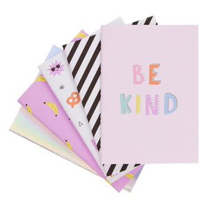 KIKKI.K A6 STITCH NOTEBOOKS 5-in-1 MULTI-PACK