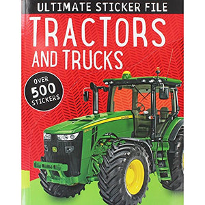 Tractors and Trucks Ultimate Sticker File (Over 500 Stickers)