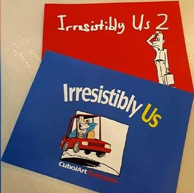 IRRESISTIBLY US 1 & 2 BY CUBOIART CARTOON